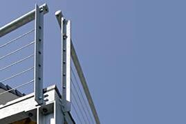 fein drahtseil f r terrassengel nder galerie die besten elektrischen schaltplan ideen. Black Bedroom Furniture Sets. Home Design Ideas